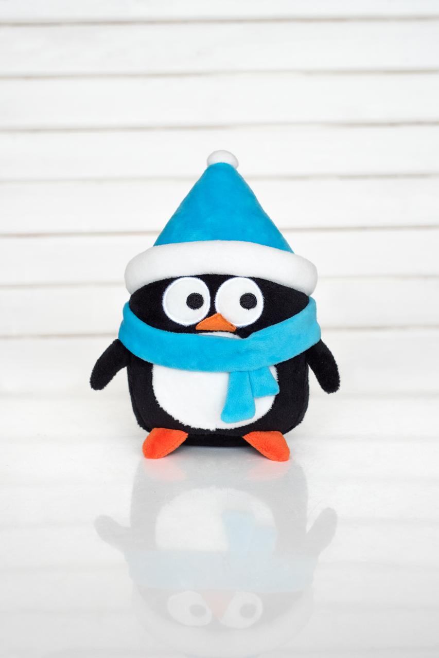 Мягкая игрушка Плюш Ленд DN16-18В черный, синий, белый