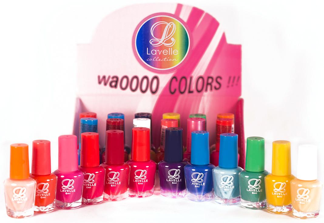 Lavelle Collection лак для ногтей 6мл (мини-color) коллекция №36 весна-лето уп24шт