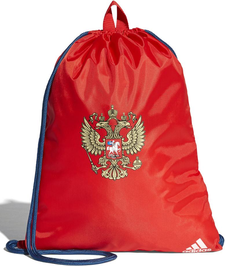 Рюкзак спортивный мужской Adidas RFU Gymbag, цвет: красный, синий, 15 л. CF4984 рюкзак спортивный adidas цвет черный cf9008
