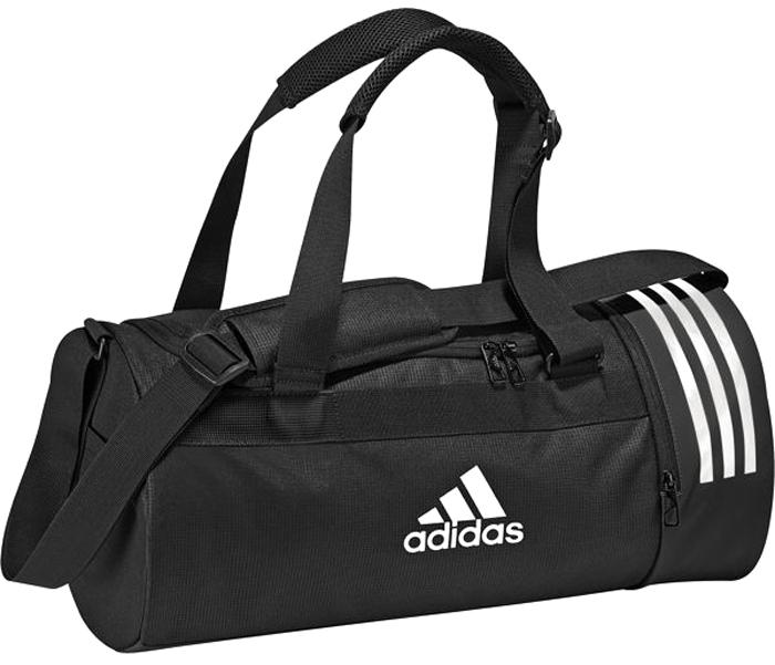 54c14eaf5319 Сумка спортивная мужская Adidas Cvrt 3S Duf S, цвет: черный, 22 л. CG1532 —  купить в интернет-магазине OZON.ru с быстрой доставкой