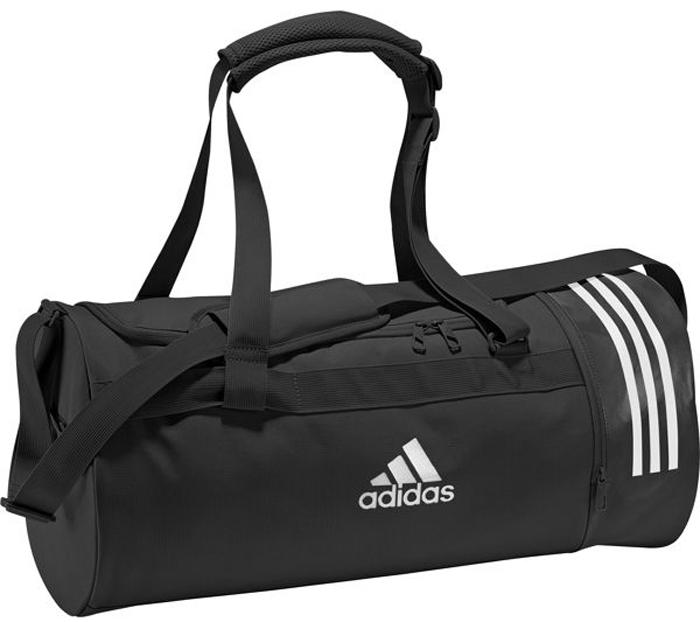 53066b31015d Сумка спортивная мужская Adidas Cvrt 3S Duf M, цвет: черный, 37 л. CG1533 —  купить в интернет-магазине OZON.ru с быстрой доставкой