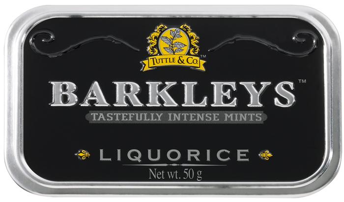 Barkleys Liquorice леденцы лакрица, 50 г цены
