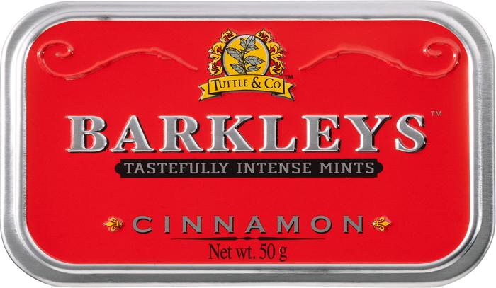 Barkleys Cinnamon леденцы корица, 50 г цены