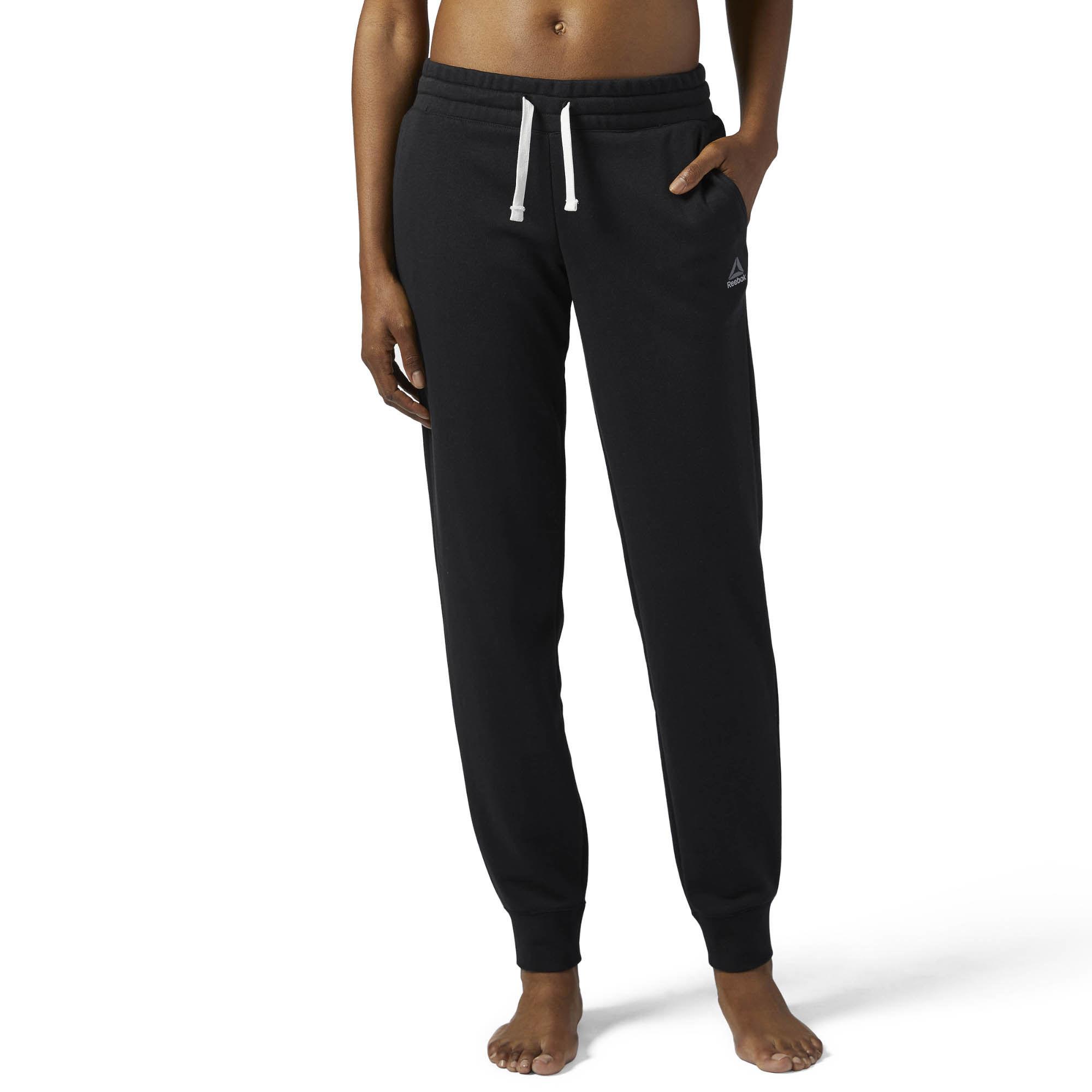 Брюки спортивные Reebok El French Terry Pan брюки спортивные женские reebok el french terry pan цвет серый bs4089 размер l 50 52