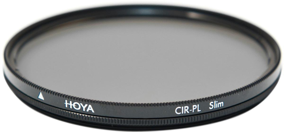 Светофильтр поляризационный Hoya PL-CIR TEC Slim  (55 мм)