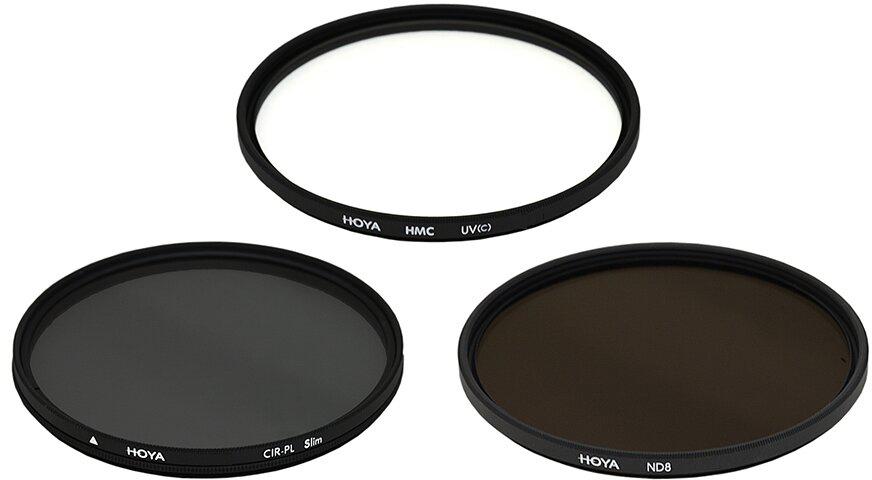 Набор светофильтров Hoya Digital Filter Kit II  (55 мм)