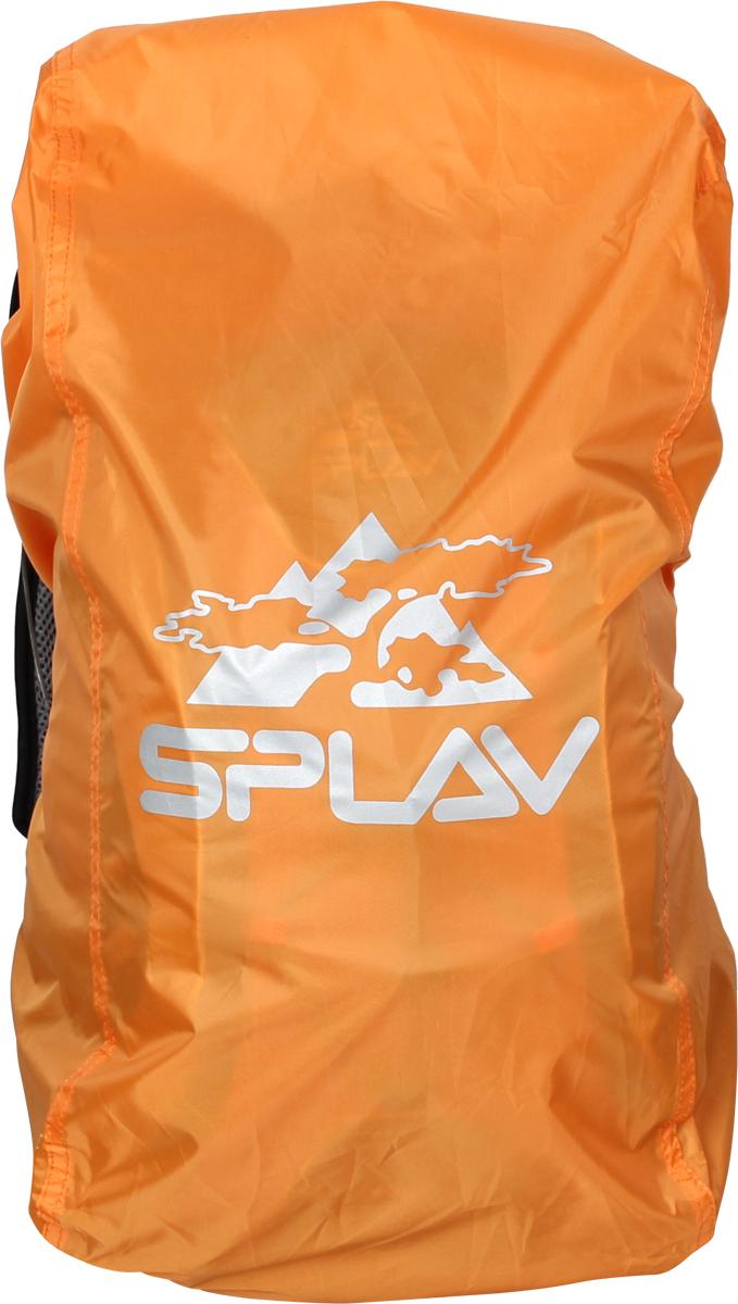 Накидка на рюкзак Сплав, цвет: оранжевый, 15-30 л