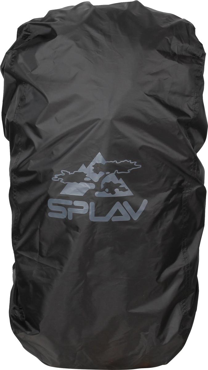 Накидка на рюкзак Сплав, цвет: черный, 45-60 л рюкзак туристический сплав goblin 70 цвет черный 70 л