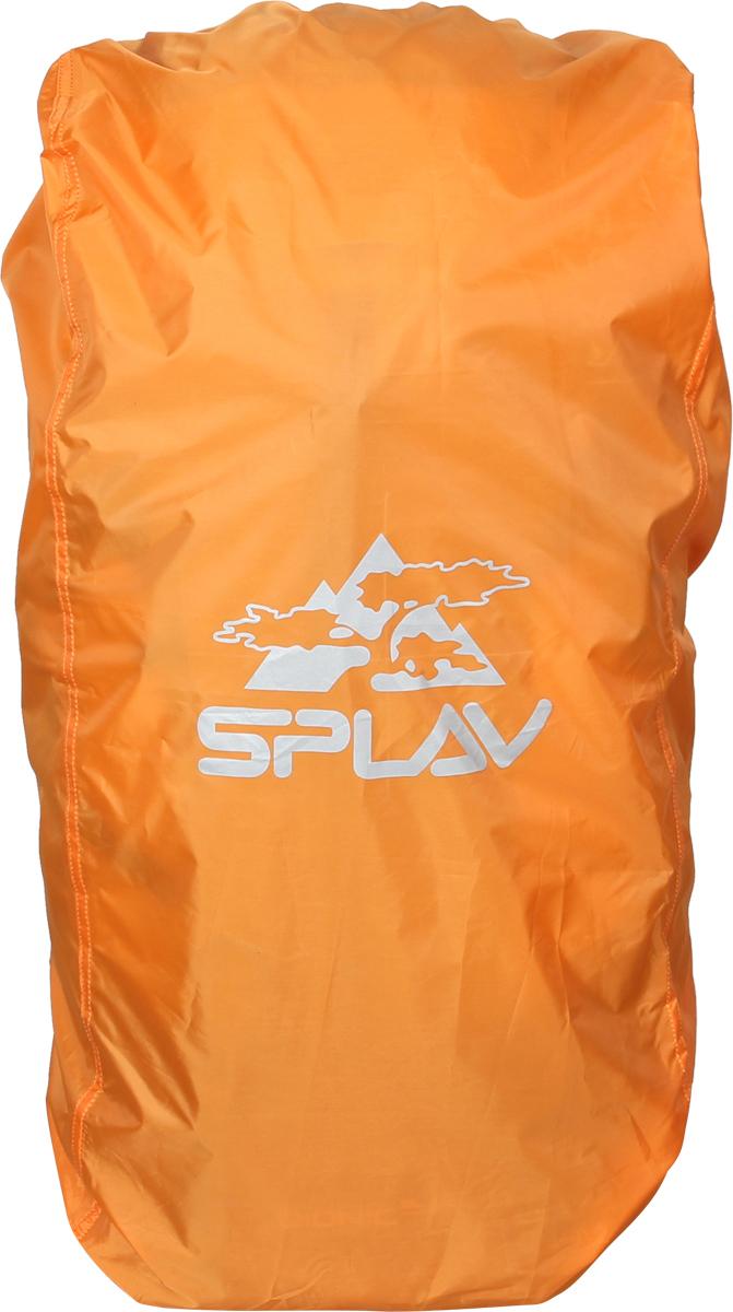 Накидка на рюкзак Сплав, цвет: оранжевый, 45-60 л рюкзак туристический сплав goblin 70 цвет черный 70 л