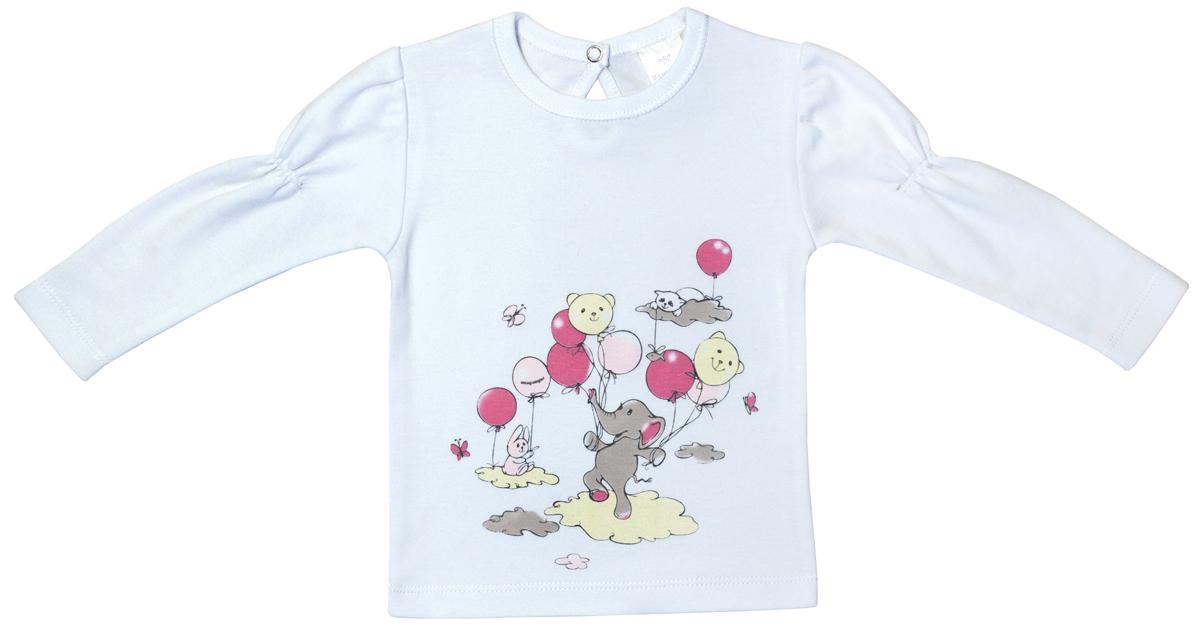 Лонгслив Мамуляндия брюки для девочки мамуляндия прогулка по облакам цвет розовый 17 1412 размер 68