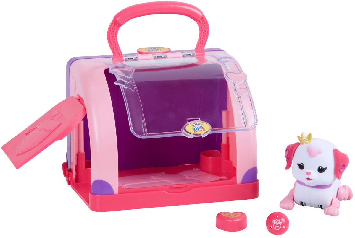 Moose Интерактивная игрушка Little Live Pets Щенок Принцесса с мячиком и переноской
