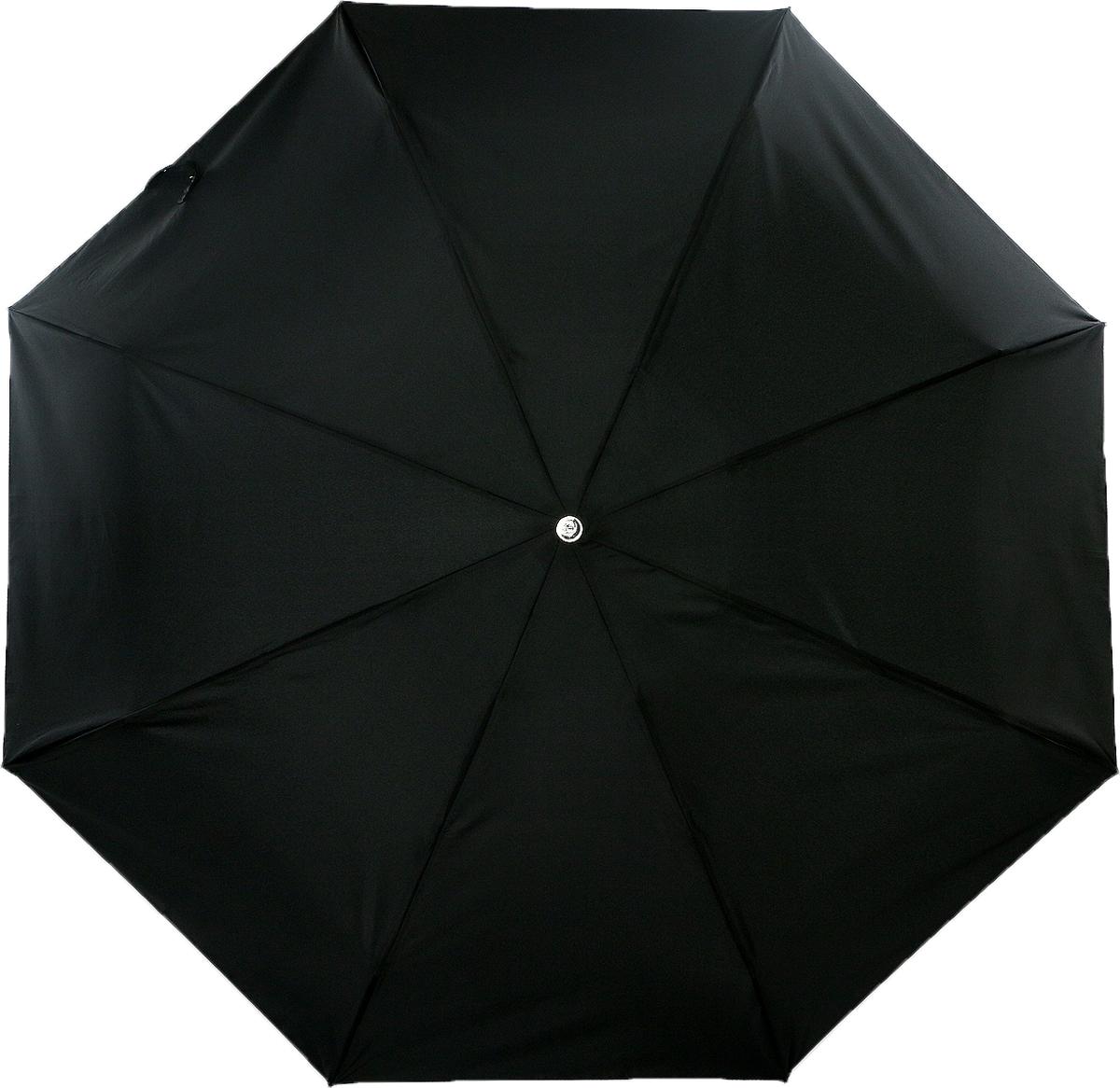 Зонт мужской Trust, автомат, 4 сложения, цвет: черный. 41420 цены