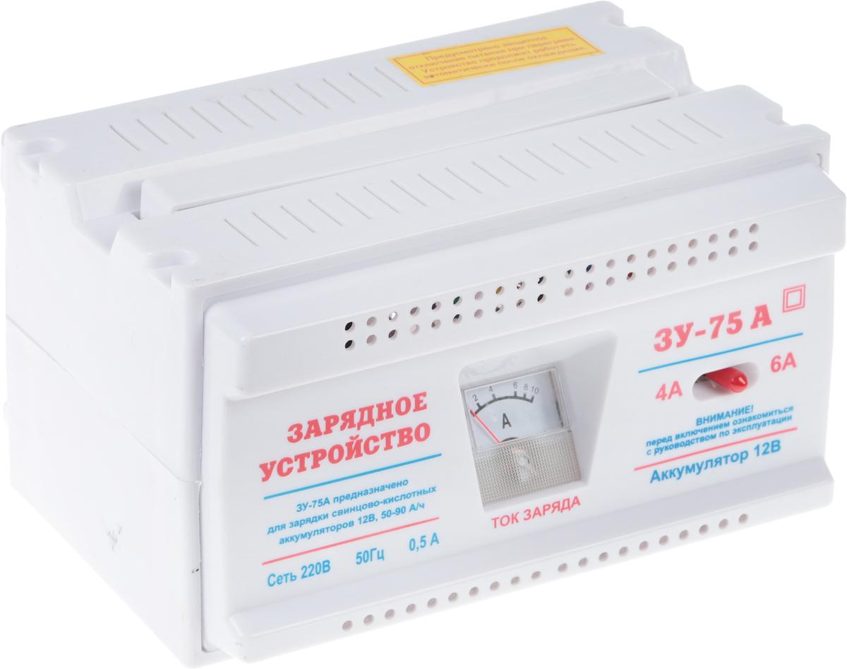 Зарядное устройство Azard ЗУ-75А, трансформаторное зарядное устройство 0 10а 6в 12в амперметр ручная регулировка зарядного тока импульсное airline ach 10a 07
