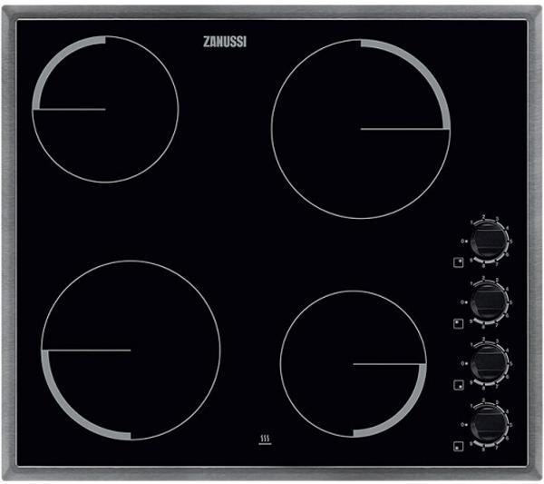 Варочная панель Zanussi ZEV56140XB, электрическая, черный