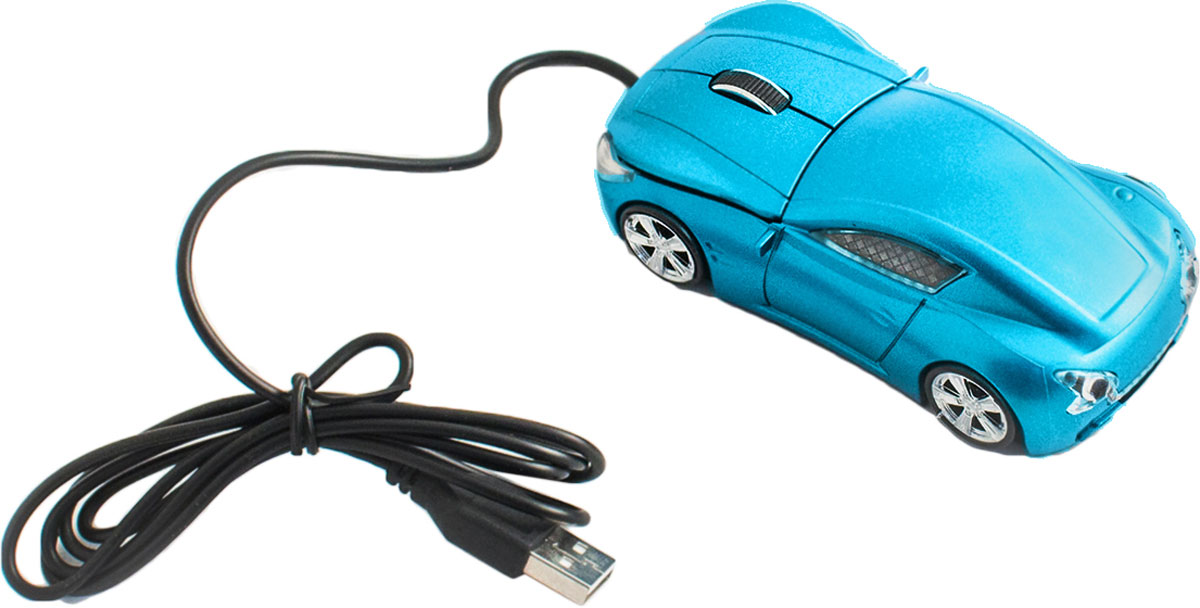 лучшая цена Мышь Эврика А25 Гоночный автомобиль, Blue
