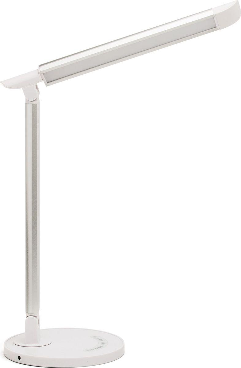 Настольный светильник Лючия, 7 Вт usb перезаряжаемый высокой яркости ударопрочный фонарик дальнего света конвой sos факел мощный самозащита 18650 батареи
