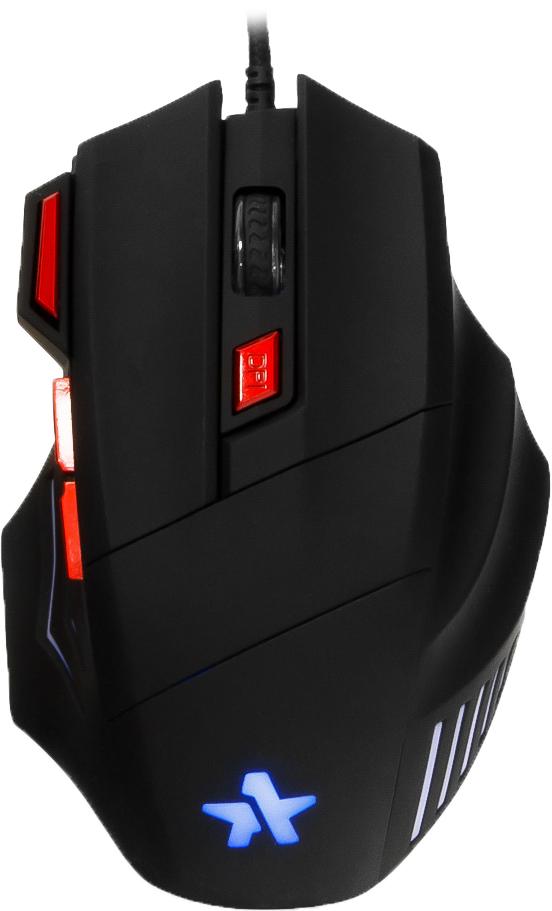 Игровая мышь Гарнизон GM-720G Хара, Black гарнизон gm 700g алкес black игровая мышь