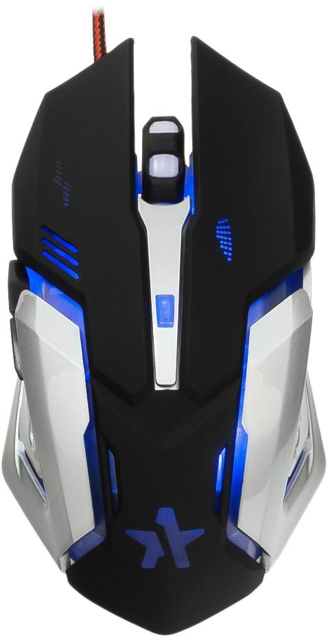 Игровая мышь Гарнизон GM-760G Арктур 2, Black гарнизон gm 700g алкес black игровая мышь