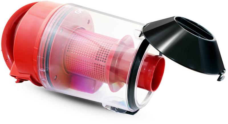 Пылесос Ginzzu VS422, Black Red Ginzzu