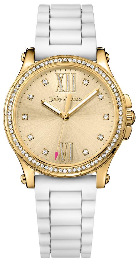 Часы наручные женские Juicy Couture, цвет: золотой, белый. 1901616 все цены