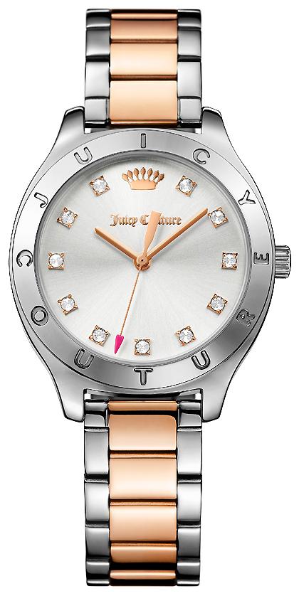 Часы наручные женские Juicy Couture, цвет: серебряный, золотой. 1901623 все цены