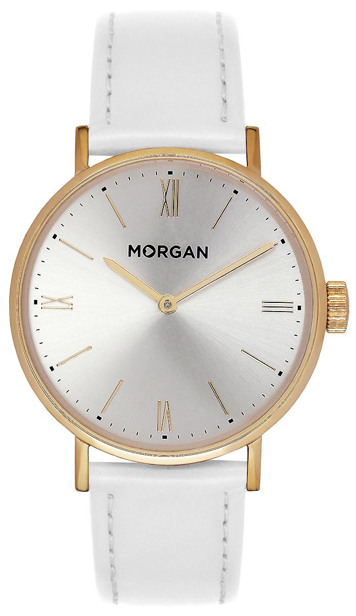 Часы наручные женские Morgan, цвет: белый, золотой. MG 002/1BB все цены