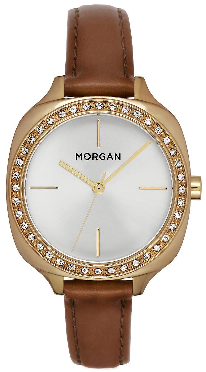 Часы наручные женские Morgan, цвет: золотой, коричневый. MG 003S/1BU все цены
