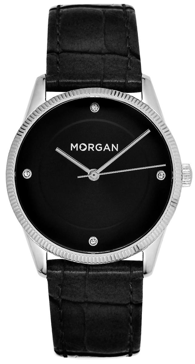 Часы наручные женские Morgan, цвет: черный, серый металлик. MG 005/AA все цены