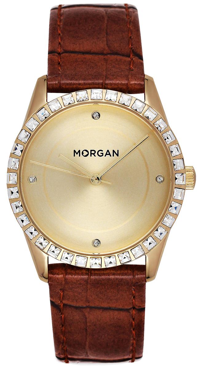 Часы наручные женские Morgan, цвет: золотой, коричневый. MG 005S/1EU все цены
