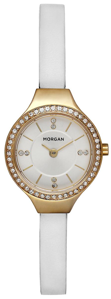 Часы наручные женские Morgan, цвет: белый, золотой. MG 007S/1BB все цены