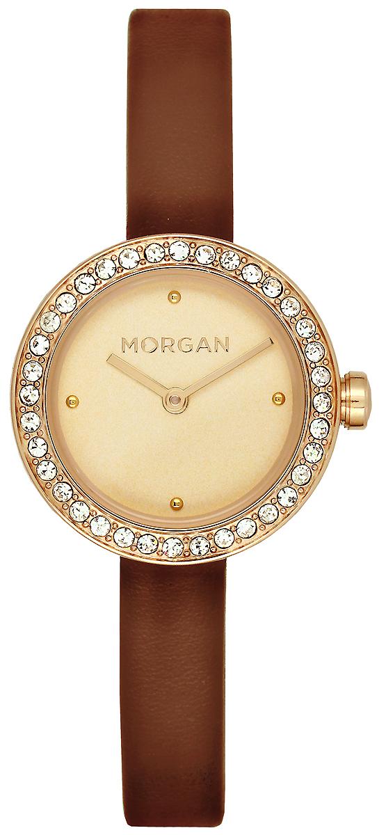 Часы наручные женские Morgan, цвет: золотой, коричневый. MG 008S/1EU все цены