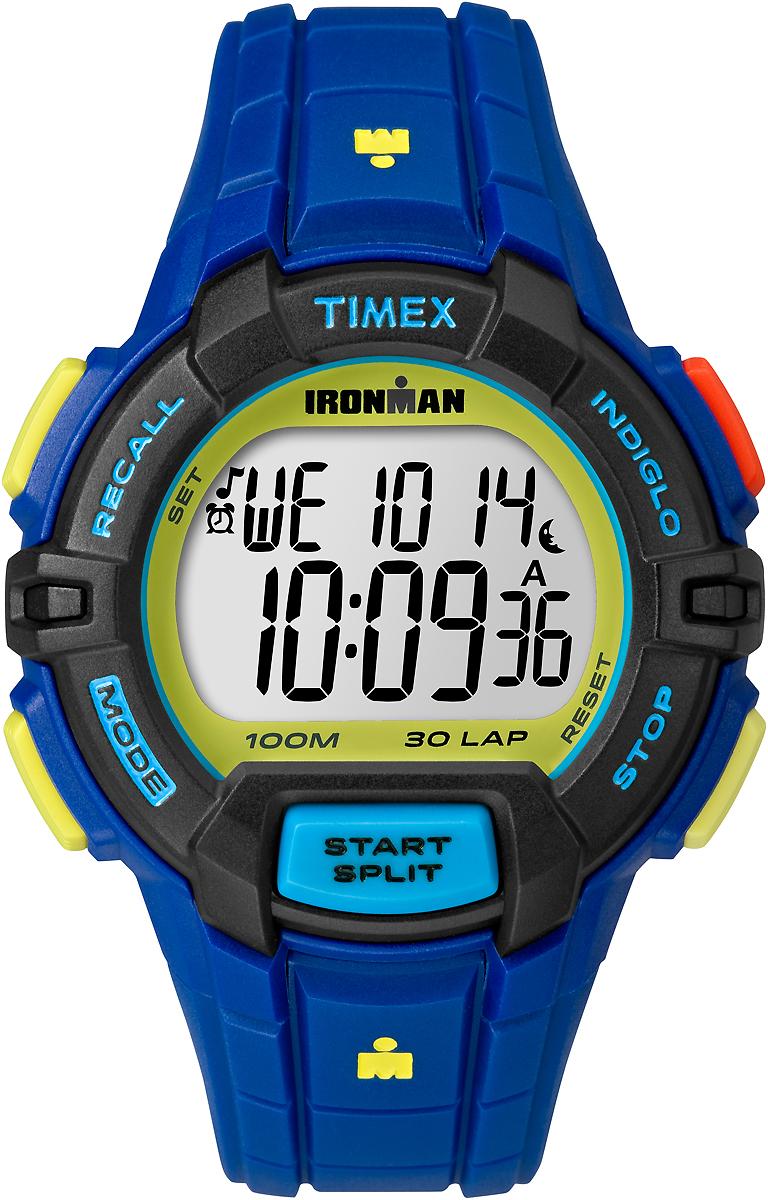 Часы наручные мужские Timex, цвет: синий. TW5M02400 наручные часы мужские timex цвет серый синий t5k804