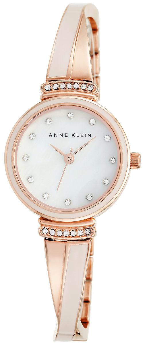 Часы наручные женские Anne Klein, цвет: розовое золото. 2216 BLRG все цены