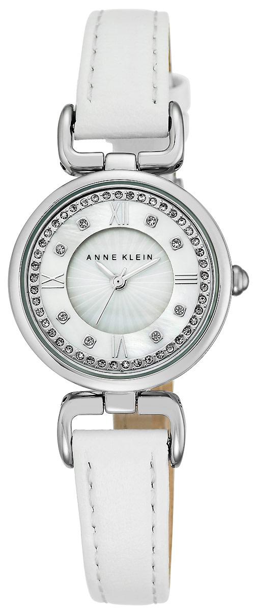 Часы наручные женские Anne Klein, цвет: белый, серебристый. 2383 MPWT все цены
