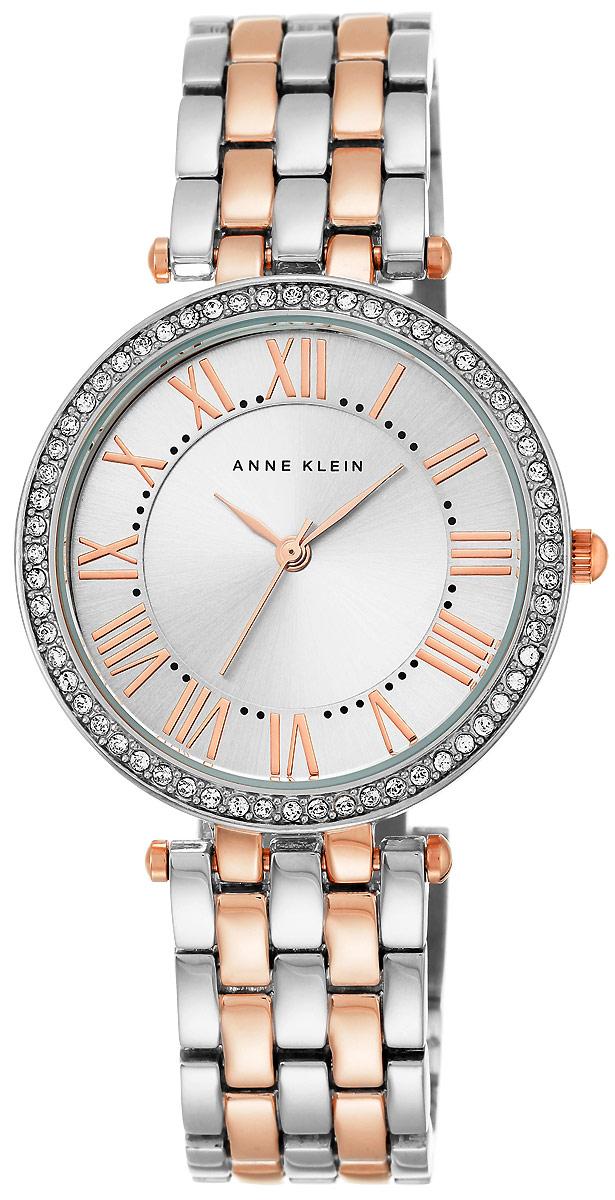 Часы наручные женские Anne Klein, цвет: серебристый, розовое золото. 2231 SVRT все цены