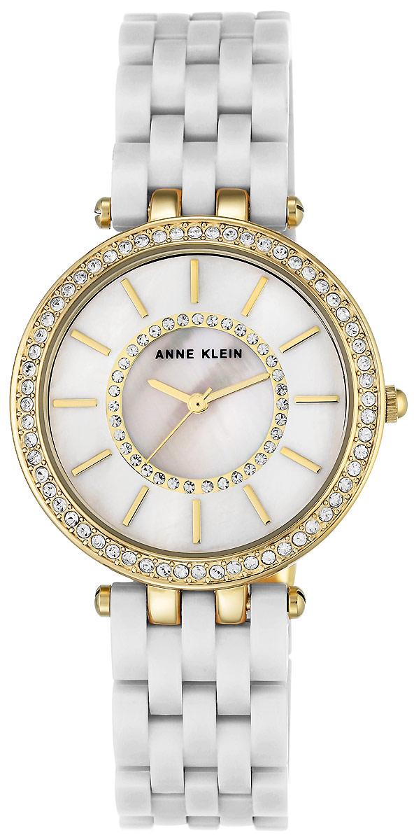 Часы наручные женские Anne Klein, цвет: белый. 2620 WTGB все цены