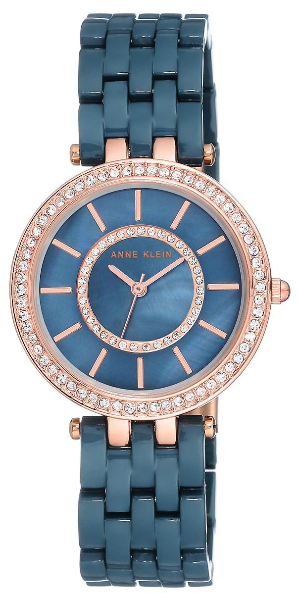 Часы наручные женские Anne Klein, цвет: синий. 2620 NVRG все цены