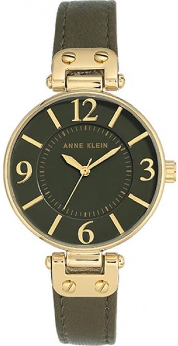 Часы наручные женские Anne Klein, цвет: оливковый. 9168 OLOL все цены