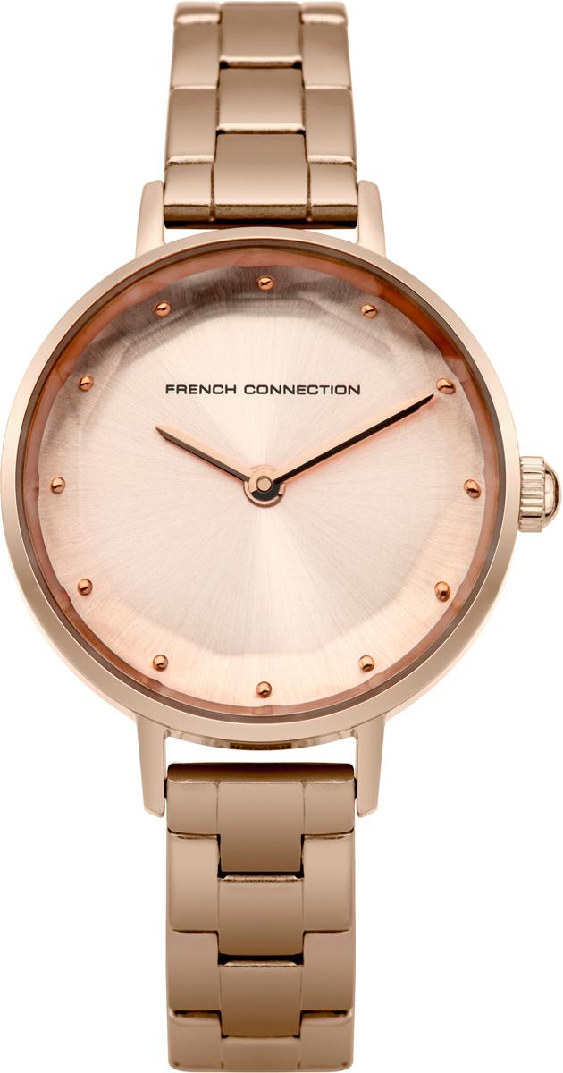 Часы наручные женские French Connection, цвет: розовое золото. FC1275RGM все цены