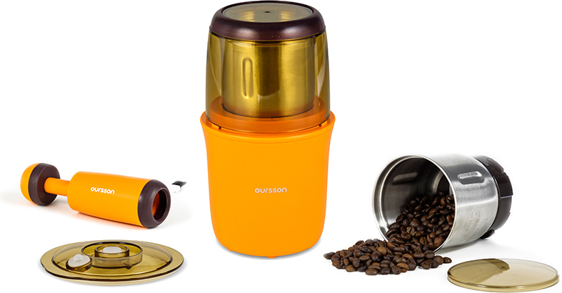 Кофемолка Oursson OG2075/OR, Orange