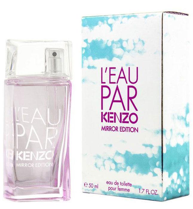 Kenzo L'eau Par Mirror Edition lady туалетная вода, 50 мл туалетная вода chloe see by lady edp 50 ml