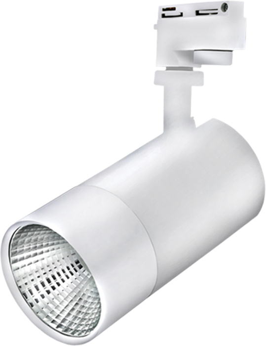 """Светильник светодиодный """"Beghler"""", трековый, 30 W, 4200 K, цвет: серый. BD30-01610"""