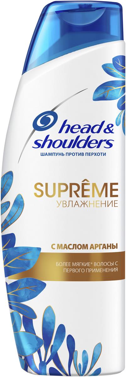 Шампунь против перхоти Head&Shoulders Supreme Увлажнение. Масло Арганы, 300 мл шампунь против перхоти head
