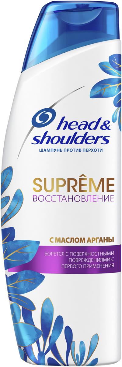 Шампунь против перхоти Head&Shoulders Supreme Восстановление. Масло Арганы, 300 мл head ti instinct supreme