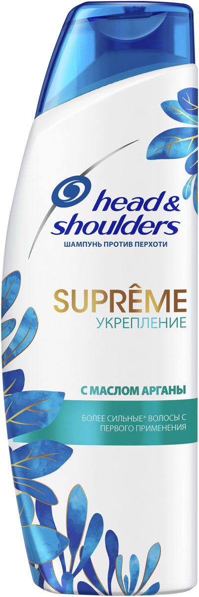 Шампунь против перхоти Head&Shoulders Supreme Укрепление. Масло Арганы, 300 мл цена