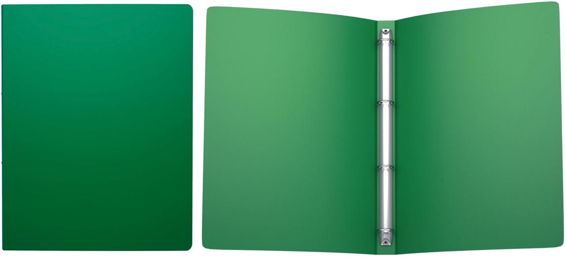 Папка ErichKrause Classic, на 4 кольцах, пластиковая, 24 мм, A4, зеленый42984Папка на 4-х кольцах Classic предназначена для хранения перфорированных документов. Изделие изготовлено из пластика. Кольцевой механизм надежно держит документы и файлы. Папка формата A4 вмешает 100 листов.