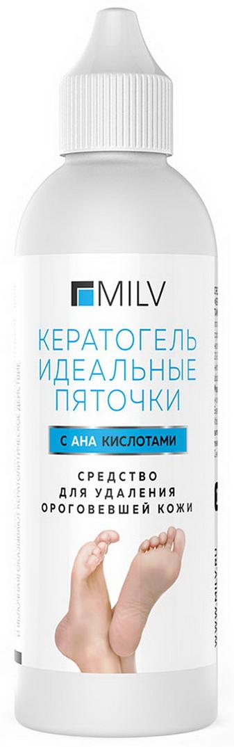 Milv Средство для удаления ороговевшей кожи Кератогель Идеальные пяточки с АНА кислотами