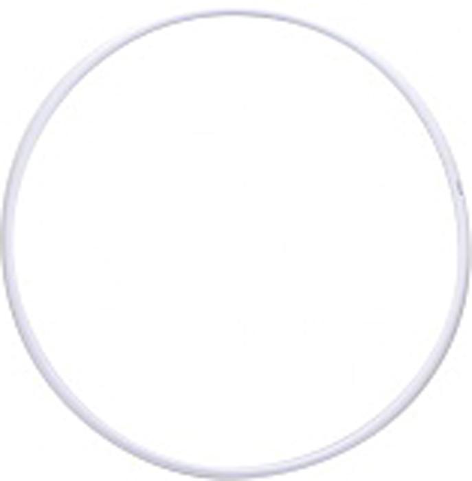 цена на Обруч гимнастический Энсо Pro, цвет: белый, 65 см