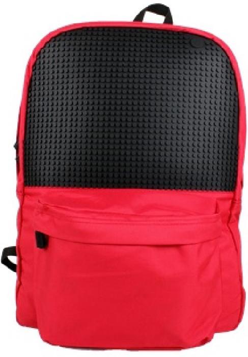 Upixel Классический школьный пиксельный рюкзак цвет красный
