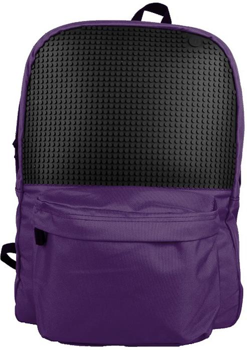 Upixel Классический школьный пиксельный рюкзак цвет фиолетовый